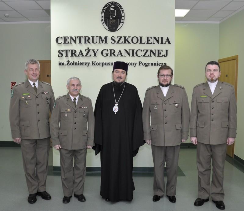 Офицеры Варминьско-Мазурской Пограничной Службы учатся по Евангелию от Матфея